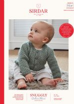 Sirdar Snuggly Baby Cashmere Merino DK Knitting Pattern Booklet - 5241 Cardigans